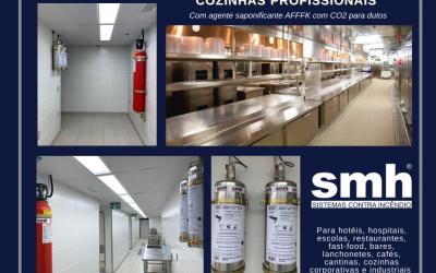 Proteção Contra Incêndio para Cozinhas Profissionais