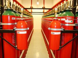 Diferenciais do Sistema de Combate a Incêndio com Gás Inerte IG541 / Inergen